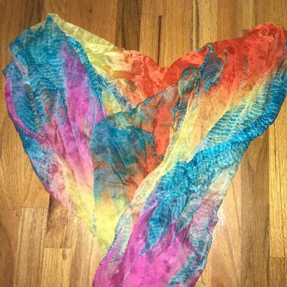 Justice Other - Rainbow Justice Tye Dye Scarf